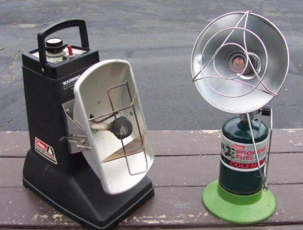 Инверторные обогреватели на сжиженном газе