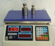Калибровка электронных весов