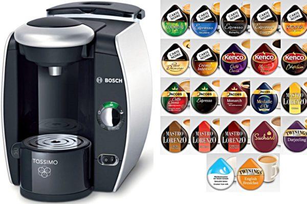 Капсулы для кофемашины Бош Тассимо