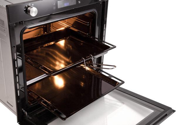 Комплектация электрической духовки