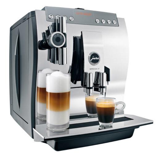 Кофемашина с функцией приготовления латте