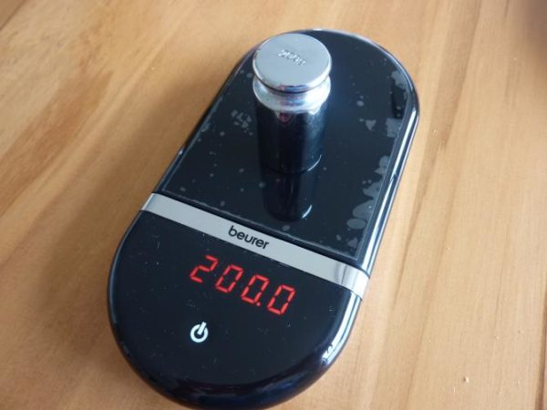 Кухонные весы Beurer KS 36