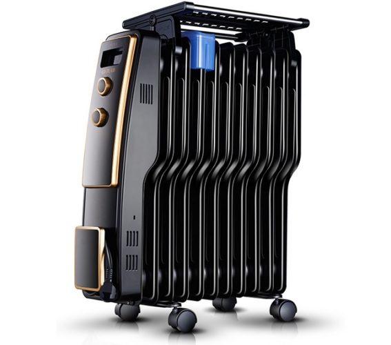 Масляный радиатор с увлажнителем воздуха