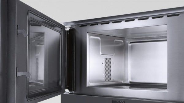 Микроволновка с покрытием из нержавеющей стали