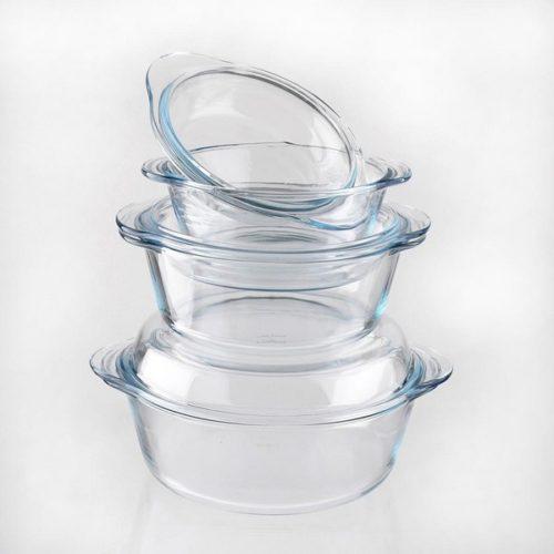 Набор стеклянной посуды для духовки