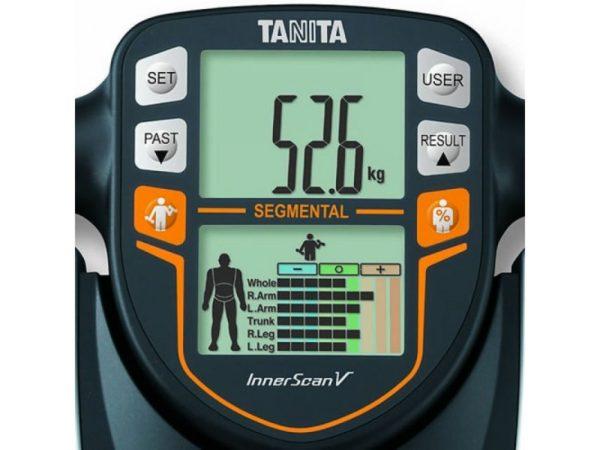 Панель управления и дисплей весов-анализаторов