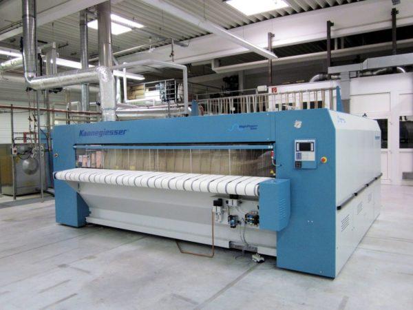 Промышленный гладильный пресс