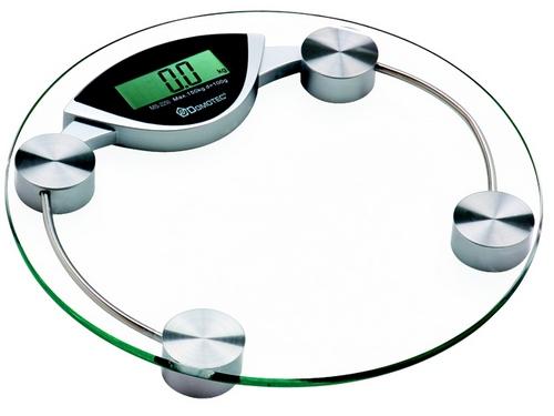 Электронные весы со стеклянным корпусом