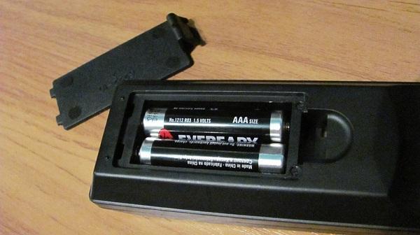 Батарейки пульта