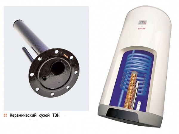 Трубчатый нагревательный элемент для водонагревателя что это