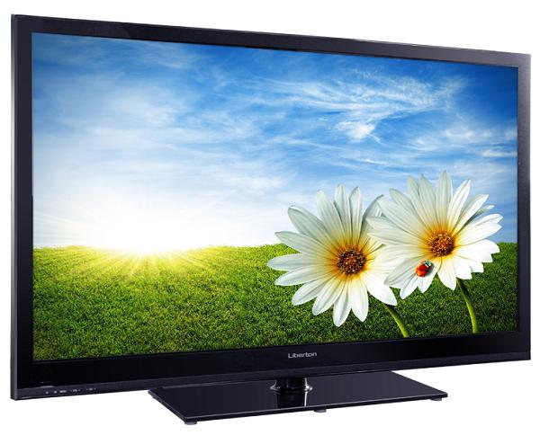 Телевизор и цветы