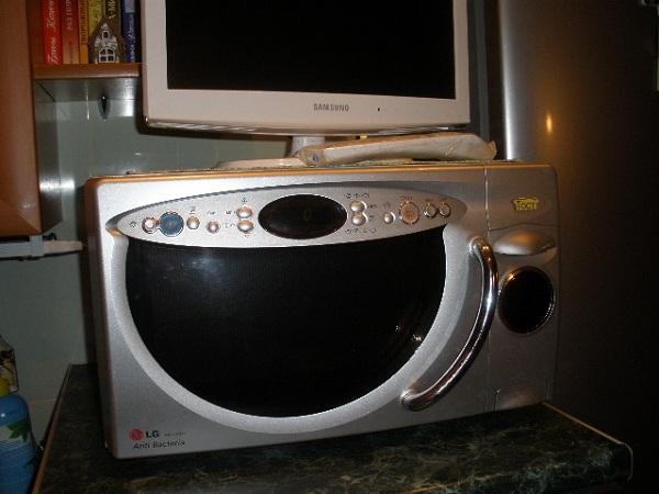 Телевизор на микроволновке