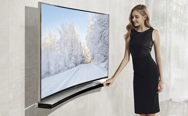 Включение телевизора кнопками