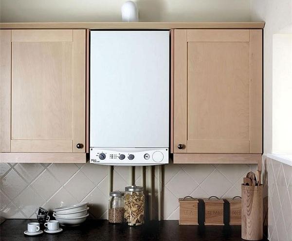 Газовая колонка на кухне