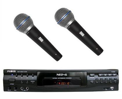 Микрофон с ДВД