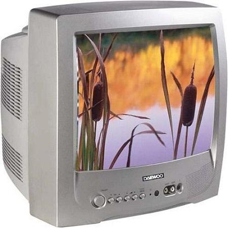 Телевизор с ЭЛТ разрешением
