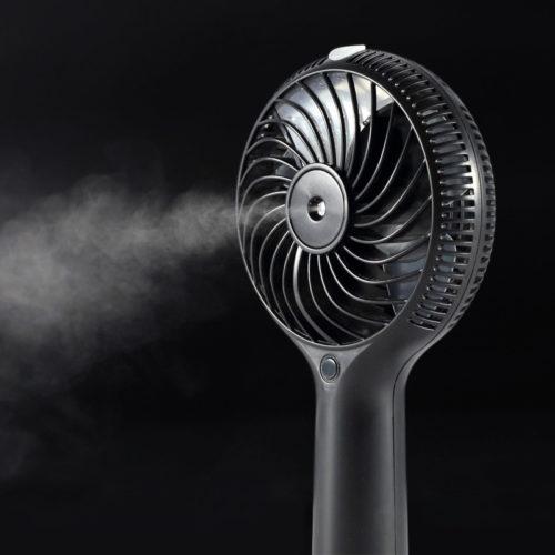 Вентилятор с увлажнителем воздуха паровой