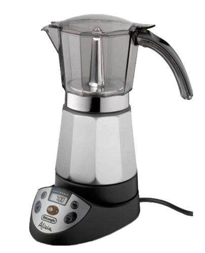 Гейзерная кофеварка с цифровым дисплеем
