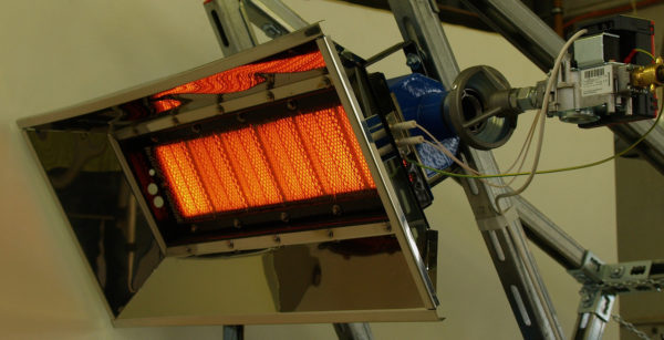 ИК-обогреватели газовые