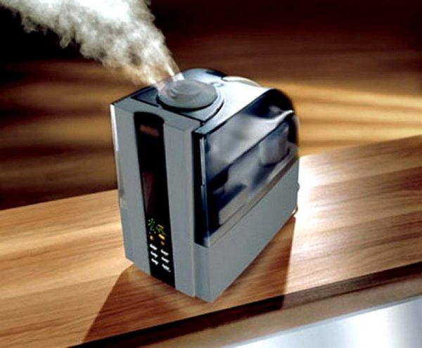 Как работает паровой увлажнитель воздуха
