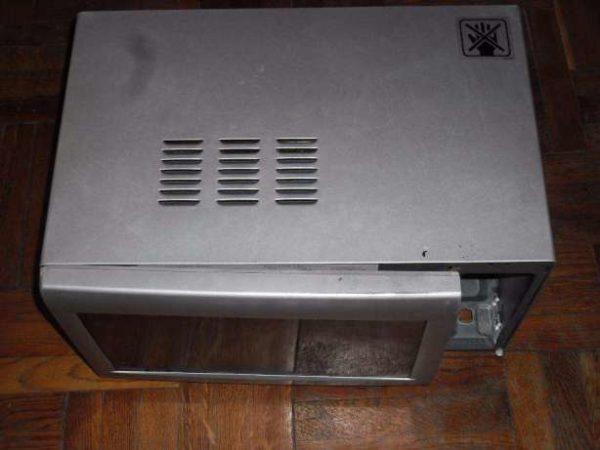 Коробка микроволновки