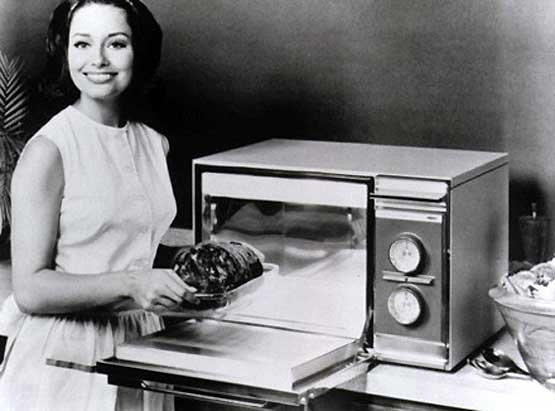 Первые микроволновки