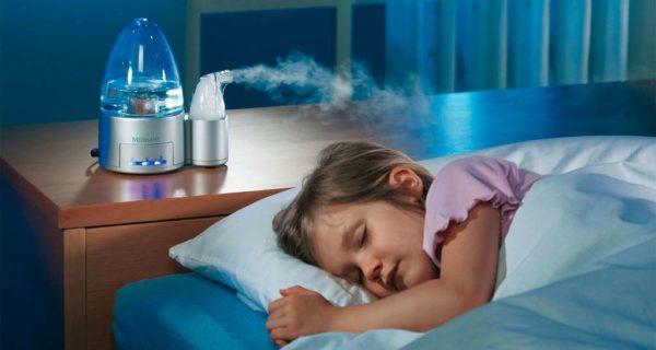 Польза и вред увлажнителей для детей