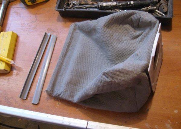 Как сделать мешок для пылесоса своими руками одноразовый 79