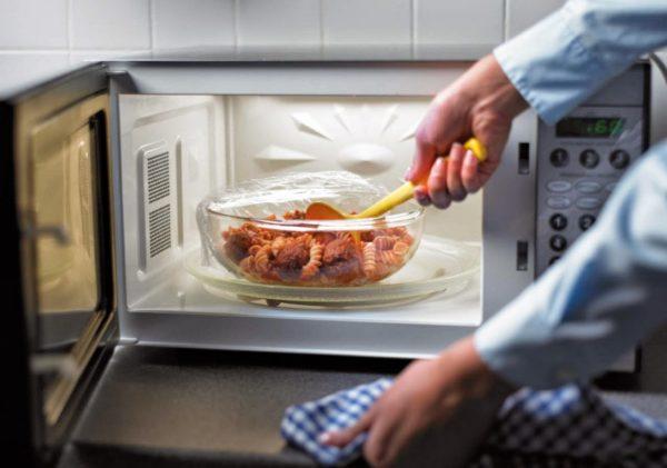 Рекомендации по приготовлению еды в СВЧ-печи