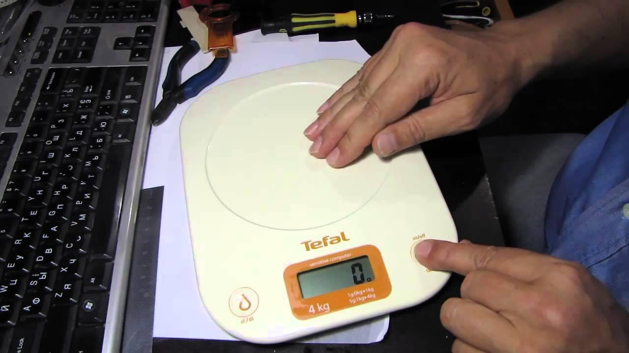Китайские электронные весы ремонт