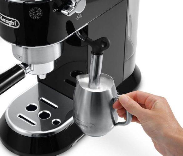 Рожковая кофеварка c капучинатором