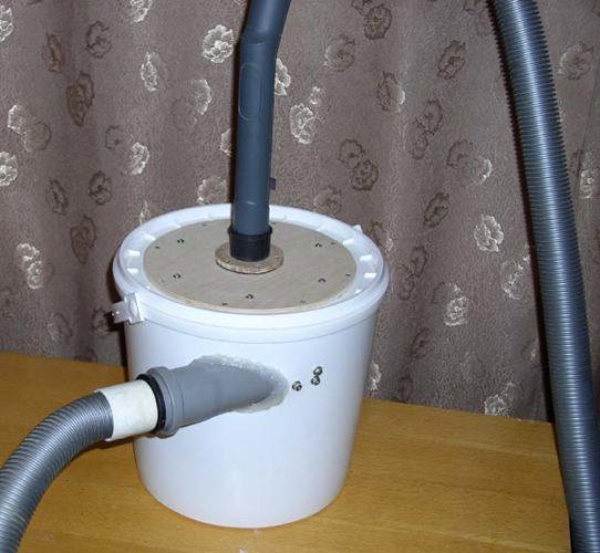 Самодельный сепаратор пыли