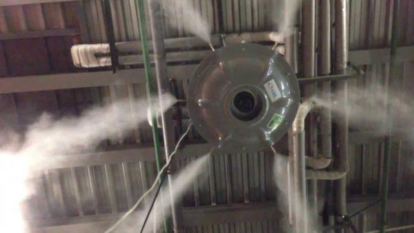Увлажнитель воздуха в промышленности