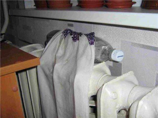 Увлажнитель из ткани и бутылки