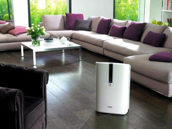 Увлажнитель и очиститель воздуха в доме