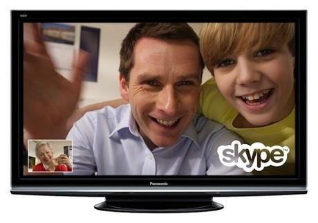 Скайп на телевизоре Панасоник