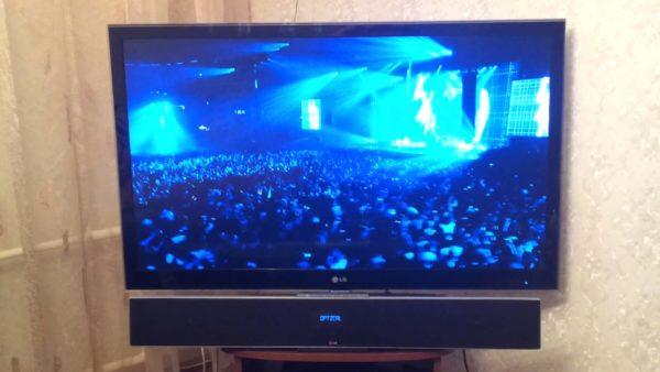 3D-саундбар под телевизором