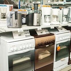 Плиты и комбайны в магазине
