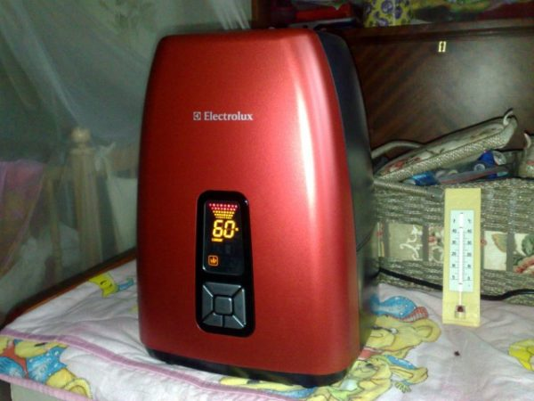 Electrolux EHU-5515D в доме