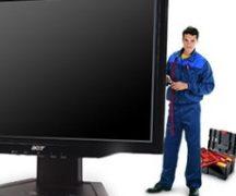 Телевизор и мастер