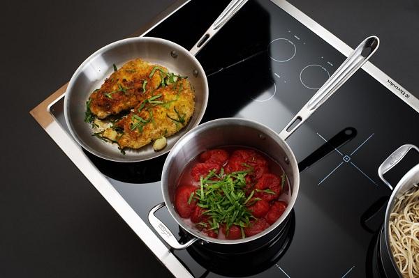 Посуда на плите