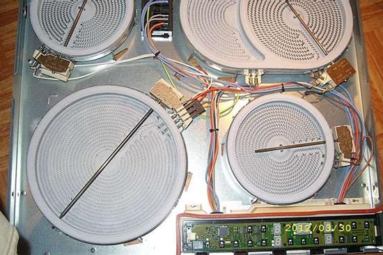 Сервисные центры по ремонту электроплит горение
