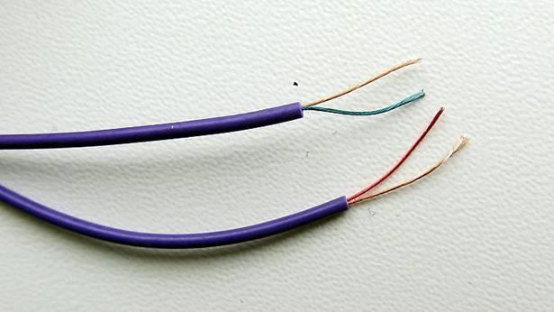 Освобождение жил кабеля