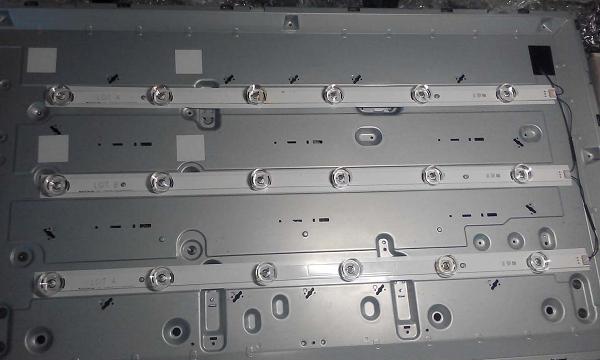 Отремонтированная панель