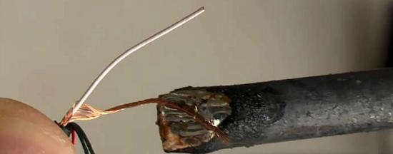 Конструкция провода