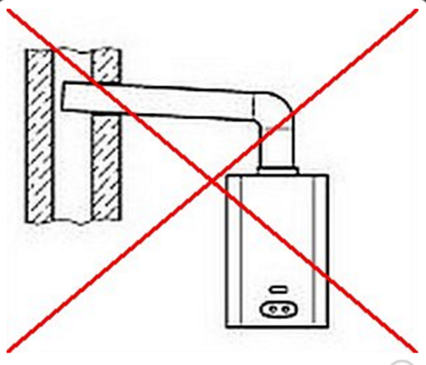 Дымоход перекрывает вентиляционную шахту