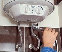 Ремонт нагревателя воды