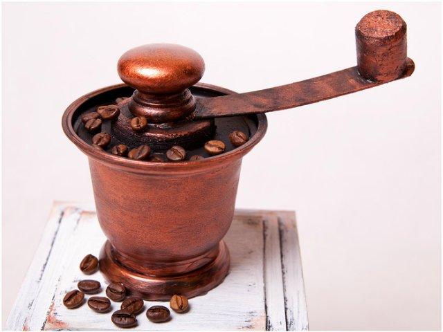 Декоративная кофемолка своими руками 75