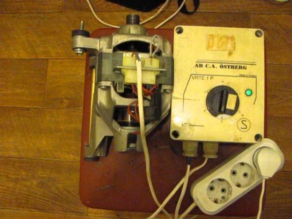 Подключение электрического двигателя