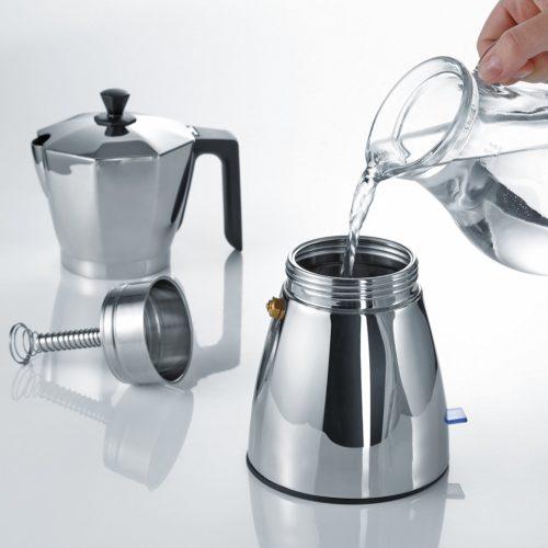 Эксплуатация гейзерной кофемашины